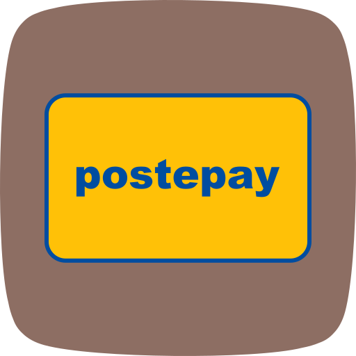 card, method, payment, postepay icon