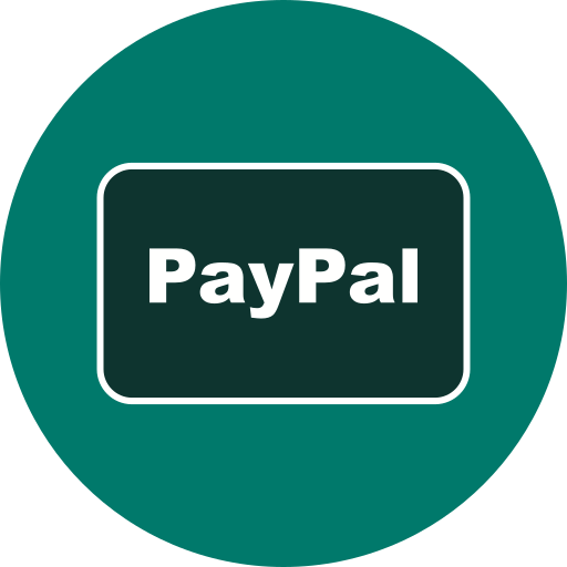 card, method, payment, paypal icon