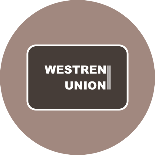 card, method, payment, union, westren icon