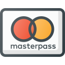 credit, masterpass, money, online, pay, payments, send icon