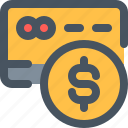 coin, credit, credit card, money, pay, payment, payment icon