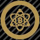 bitcoin, change, coin, exchange, money, value