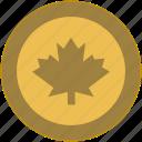 canada, cent, change, coin, dollar, exchange, money icon