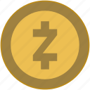 bitcoin, brand, change, coin, money, z icon