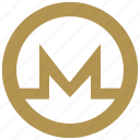 bitcoin, coin, exchange, letter, m, money