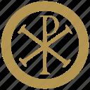 coin, exchange, history, money, religion icon