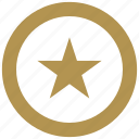 army, coin, exchange, money, star icon