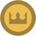 britain, coin, crown, exchange, money icon