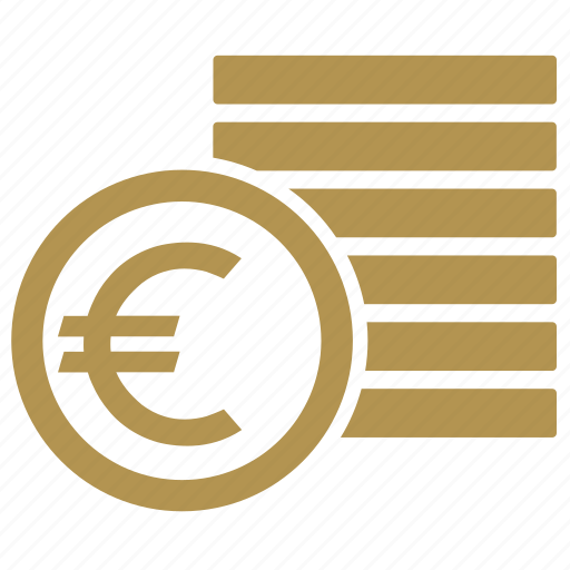 coin, coins, euro, money icon