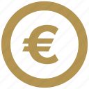 cent, change, coin, euro, europe, exchange, value icon
