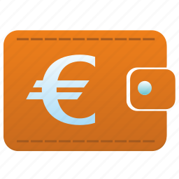 euro, money, pay, payment, wallet icon