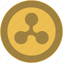 bitcoin, brand, change, coin, exchange, money icon