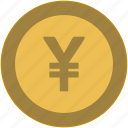 change, coin, exchange, money, national, value icon