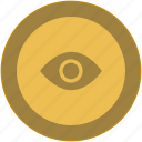 coin, dollar, exchange, eye, masson, money icon