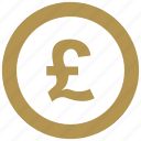 britain, coin, exchange, money, pound icon