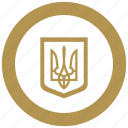 change, coin, exchange, money, ukraine icon