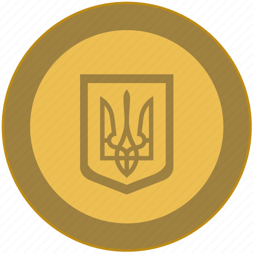 change, coin, exchange, money, ukraine icon