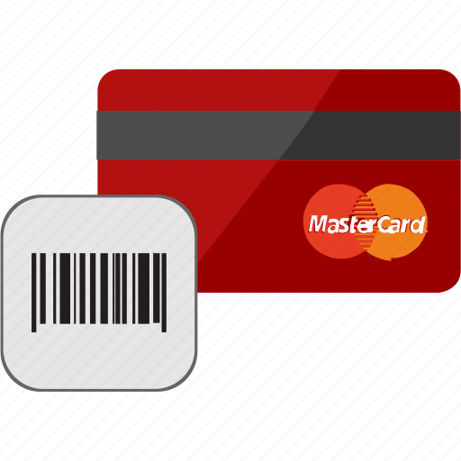 banking, barcode, card, credit, scan, service icon