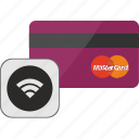 banking, card, credit, finance, service, wifi, wireless icon