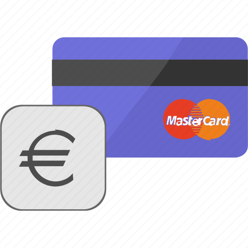 banking, card, credit, euro, payment, service icon