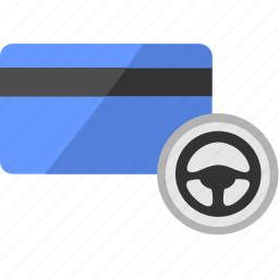 access, car, card, credit, driver, payment, service icon
