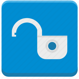access, locker, open, security, service, unlock icon