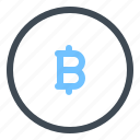bitcoin, coin, currency, exchange, finance, money, payment icon