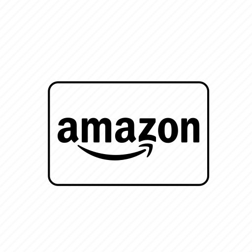 amazon, bank, card, credit, debit, transaction icon