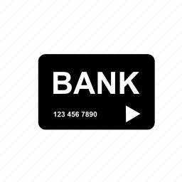 bank, card, credit, debit, transaction icon