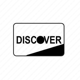 bank, card, credit, debit, discover, transaction icon