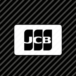 bank, card, credit, debit, jcb, transaction icon