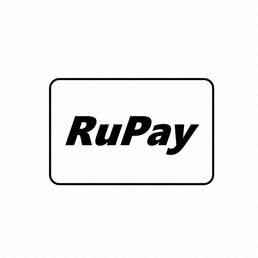 bank, card, credit, debit, rupay, transaction icon
