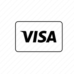 bank, card, credit, debit, transaction, visa icon