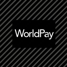 bank, card, credit, debit, transaction, worldpay icon