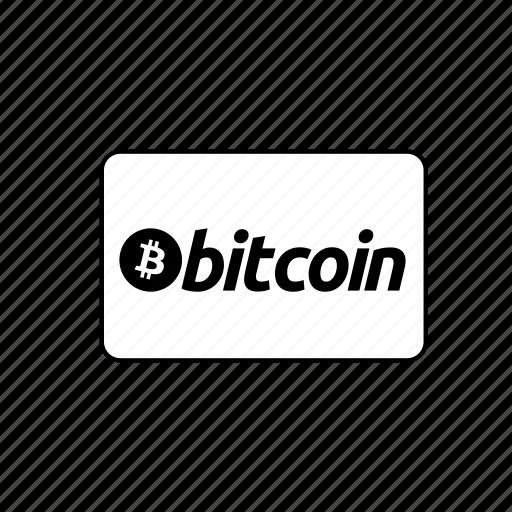 bank, bitcoin, card, credit, debit, transaction icon