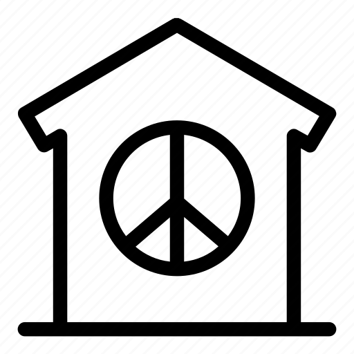 construction, home, house, household, peace, property, real estate icon