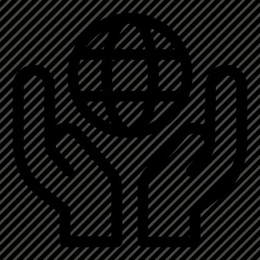 business, earth grid, gobe grid, hands, multimedia, wireless internet, worldwide icon