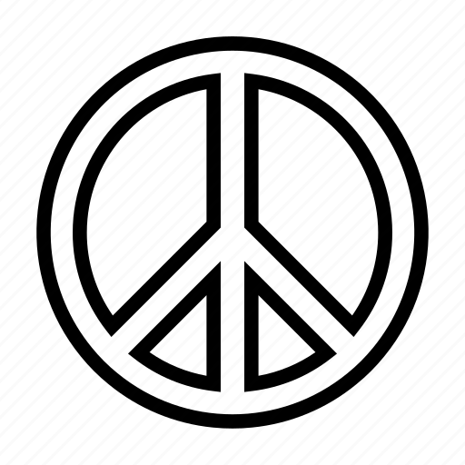 Hippie, love, peace, respect icon - Download on Iconfinder