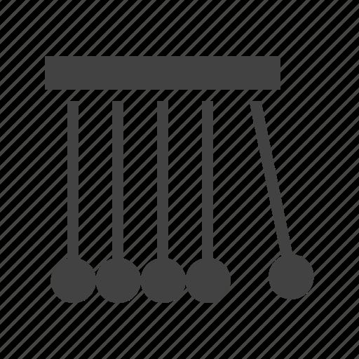 Newton, pendulum, physics, science icon - Download on Iconfinder