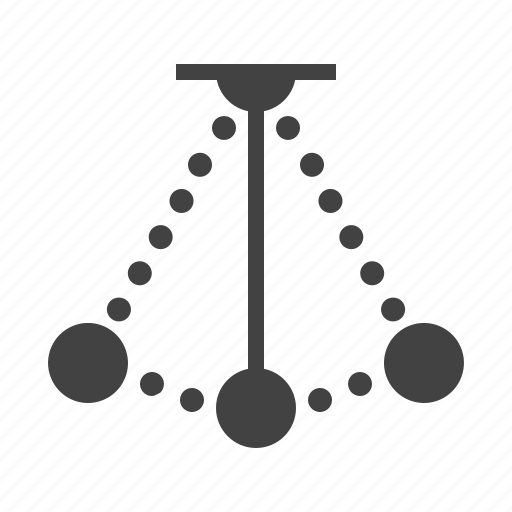 Motion, pendulum, physics, science icon - Download on Iconfinder