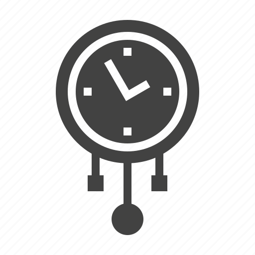Clock, grandfather, pendulum icon - Download on Iconfinder