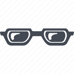 glasses, lenses, pensioners, spectacles, vision icon
