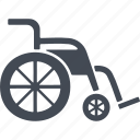 pensioners, transport, vehicle, wheelchair icon