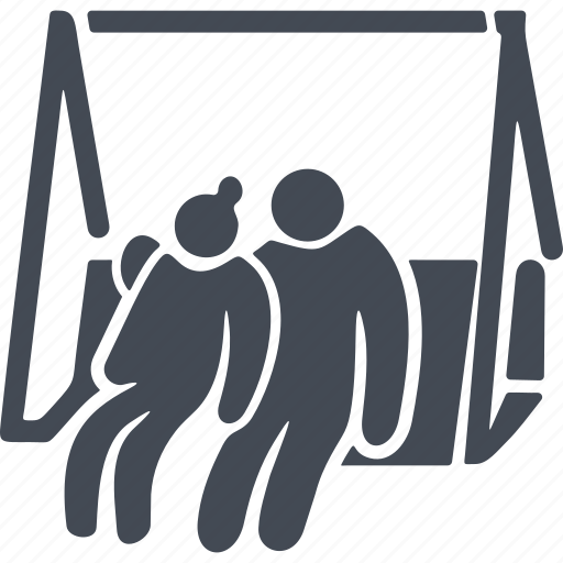 pensioner, pensioners, recreation, retireee, swing icon