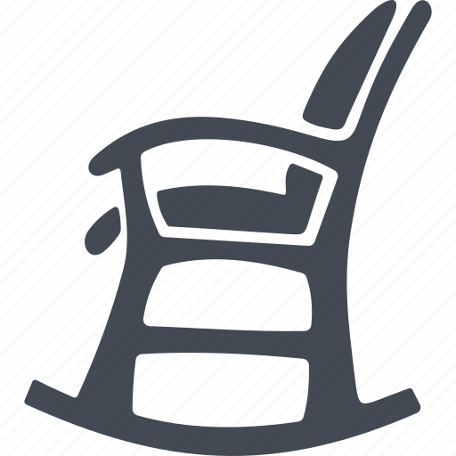 armchair, furniture, pensioners, rocking chair icon