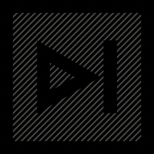 arrow, next, pagination, play, right icon