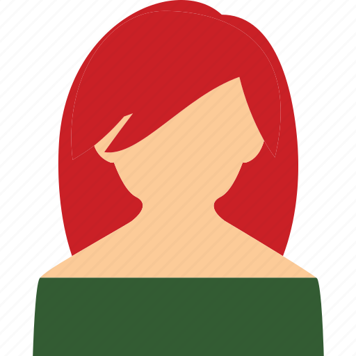 Chick, lady, redhead, woman icon - Download on Iconfinder