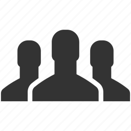 audience, community, group, men, people, team, users icon