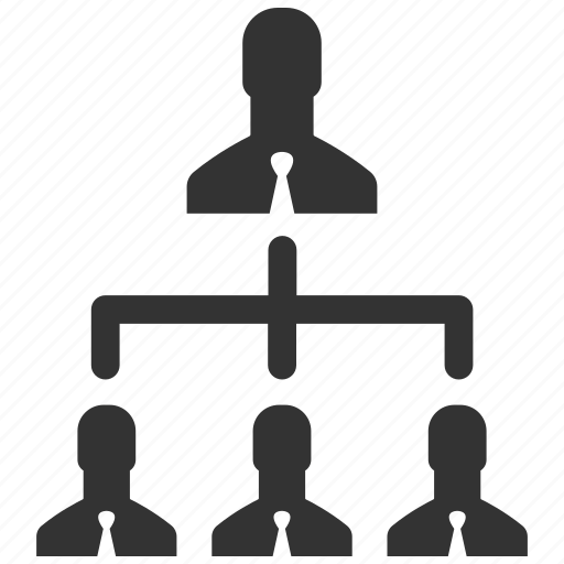 business, business team, hierarchy, management, people, structure, users icon