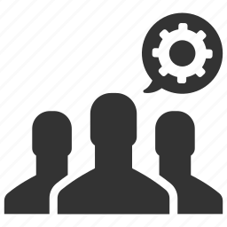 configure, control, group, management, people, productivity, teamwork icon